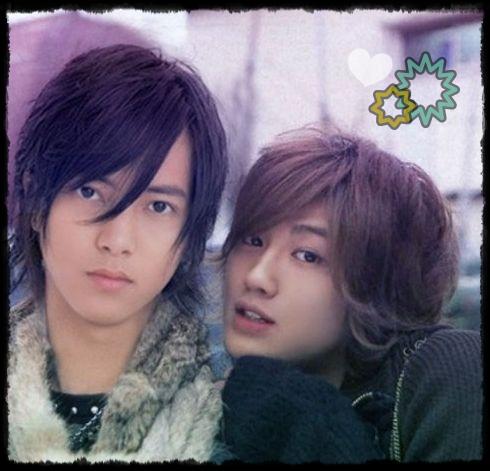 Jin and Yamapi.<3